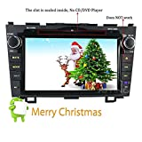 JOYING for 2007 2008 2009 2010 2011 Honda CRV CR-V 8 inch 2GB Head Unit Android 6.0 Double Din Car Radio Stereo Support Bluetooth 4.0 Phone Mirroring WiFi GPS Navigation (FBA-JY-HM121N2)