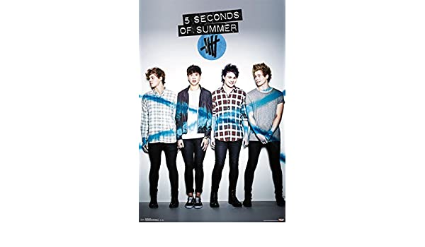 Amazon.com: 5 Seconds Of Summer - 5SOS Album Poster 22 x 34in: Posters & Prints