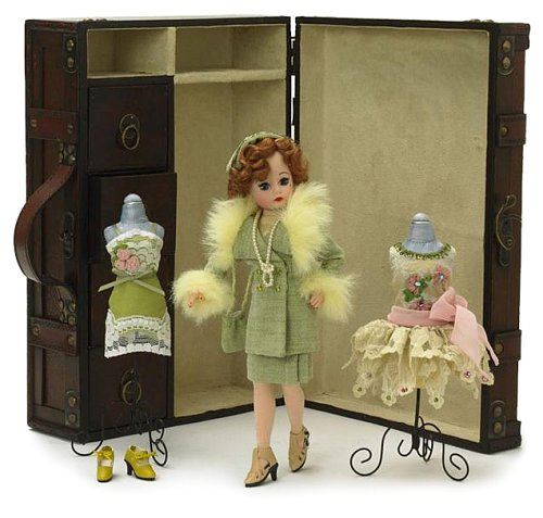 - Madame Alexander Dolls Inch1920'S Cissette Trunk Set Inch Which Includes 10  Inch 50Th Anniversary Cissette Doll with Wooden Trunk and Flapper Style Accessories.