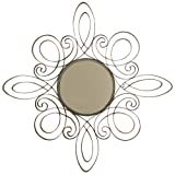 Wall Mirror With Bronze Swirls - Best Reviews Guide