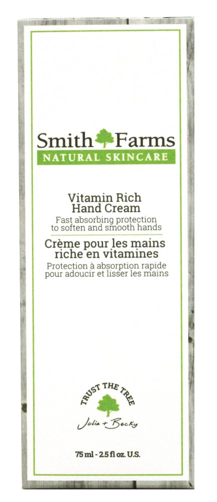 Miracle Working Vitamin Rich Hand Cream – Non-Greasy, Fast Absorbing & Long Lasting Natural Hand Cream- Perfect for Sensitive Skin & Skin Conditions - Rosacea, Eczema & Psoriasis | Made in Canada Smith Farms
