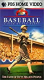 Baseball - Inning 3, The Faith of Fifty Million People (1910-1920) [VHS]