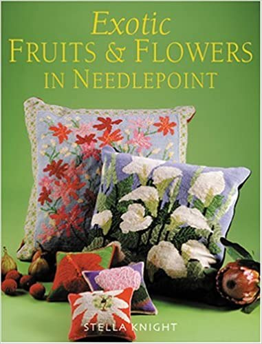 Exotic Fruits Flowers In Needlepoint Stella Knight 9781861084712 Amazon Books