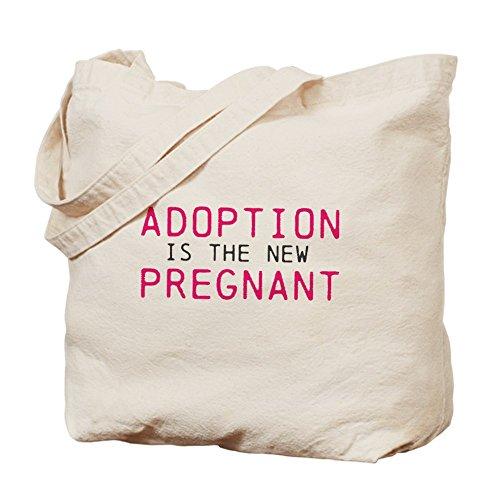 CafePress bolsa - la adopción esta bolsa para herramientas de embarazada