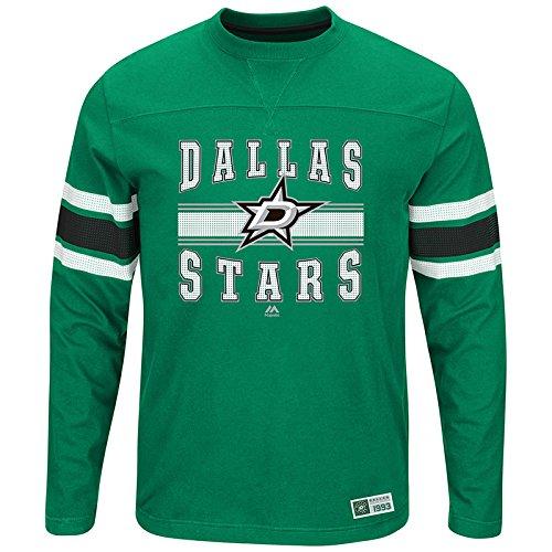 - Majestic Dallas Stars NHL Forecheck Men's Long Sleeve T-Shirt