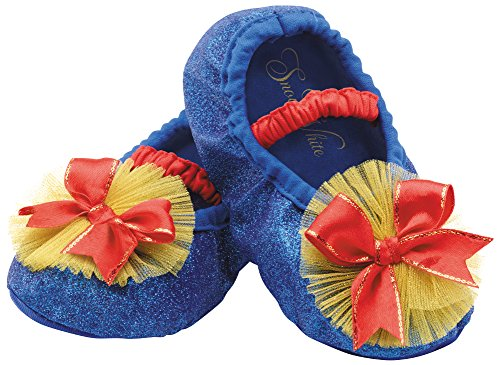 Disguise Costumes Snow White Slippers, Toddler, Size 6 (Halloween Costumes Snow White)