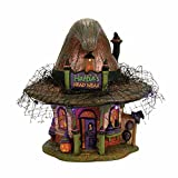 Department 56 Village Halloween Hattie's Hat Shop Lit House