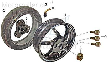 Xfight-Parts Felgenventil 90 grad abgewinkelt Gummi kurz Kappe Schwarz TR87 Felgenbohrung 11.5mm JSD139QMB YYB950QT-2-11003 f/ür Rex RS 450 OFF-LIMIT//TRIBAL-Scooter//CAPRIOLO 50 QM50QT-6A