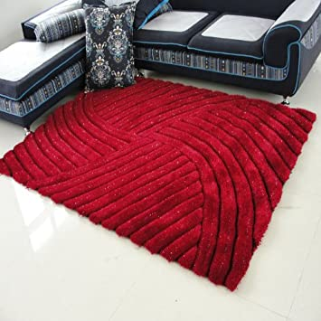 Luxury Modern Area Rugs Shag 3D Three Dimensional Carpet Disposable Thickening Living Room Coffee