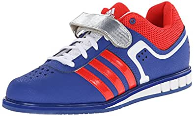 adidas Performance Men's Powerlift.2 Trainer Shoe, Pride Ink/Red, 4 M US