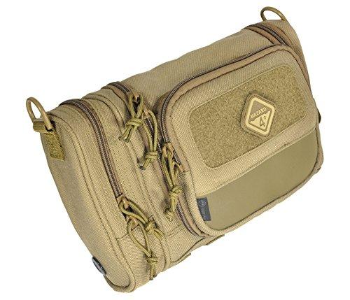 Hazard 4 Reveille Rugged Grooming Kit/Heavy-Duty Toiletry Bag, Coyote