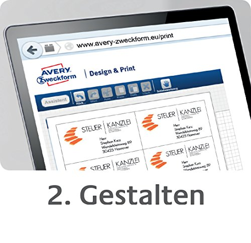 Avery Zweckform ADP5000 DesignPro 5.0 Design & Print Software Full Version [German Import] by Avery (Image #2)