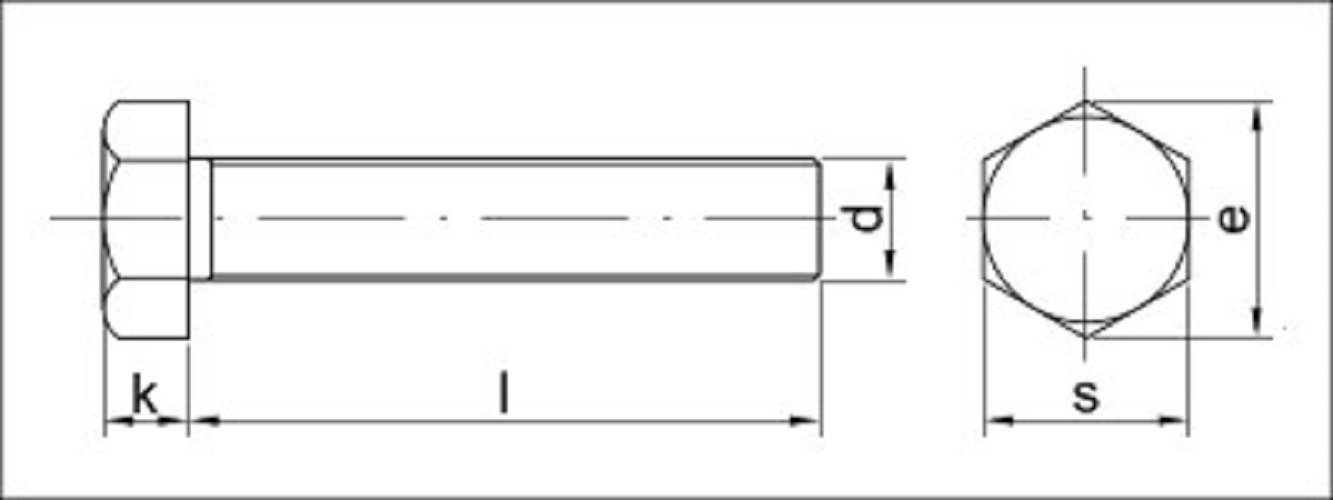 Aparoli SJA 67961QB DIN 933Hexagonal Screws with Thread up to Head 10.9(Pure Copper 16Pack of 10Quality: Basic by Aparoli (Image #1)