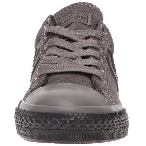 Converse - Zapatillas de tela para niña Gris