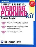 Simply Essential Wedding Planning Kit, Sharon Boglari, 155180381X