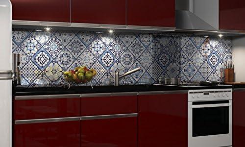 Graz Design Autocollant de protection anti-éclaboussures en PVC rigide pour cuisine 0,4 mm