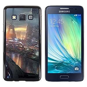 TaiTech / Case Cover Housse Coque étui - Future Paris France - Samsung Galaxy A3