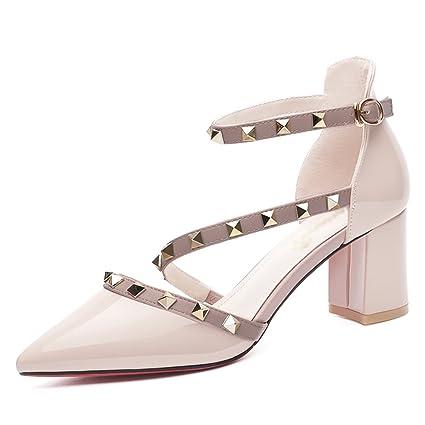 Zapatos SandaliasVeranoTacones Altoscolor Hwf Para Mujer YWD2ebH9IE