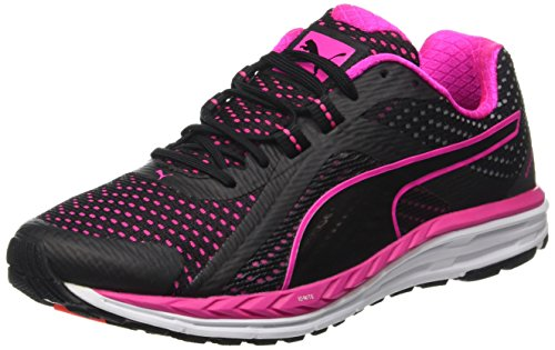03 Damen Laufschuhe 500 Schwarz Schwarz Ignite Speed Puma Pink wqSRPUvR