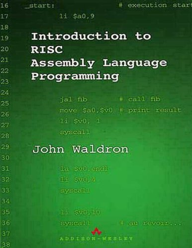 Introduction to RISC Assembly Language Programming by Brand: Addison-Wesley