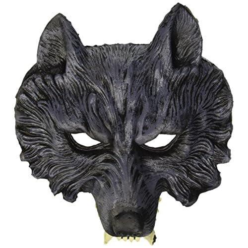 Widmann Famille 00456loup-garou Demi Masque en latex Taille Unique Adulte