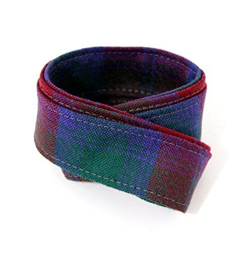 KWH 100% Pure Wool Traditional Tartan Ribbon - 1 Inch x 54 Inches - Lindsay