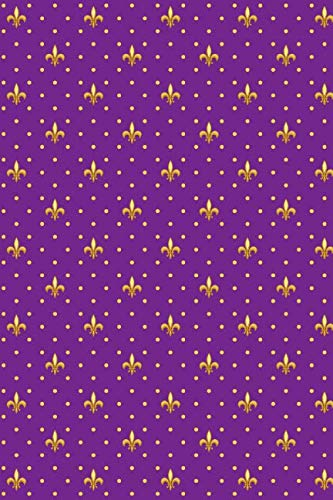- Mardi Gras Pattern - Carnival Decoration 27: Blank Lined Notebook for Mardi Gras and Carnival Lovers