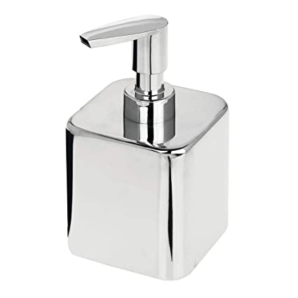 Amazon.com: mDesign - Dispensador de jabón líquido compacto ...