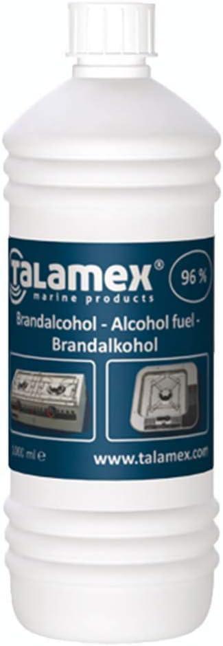 Talamex - Juego de alcohol para quemar (96%)