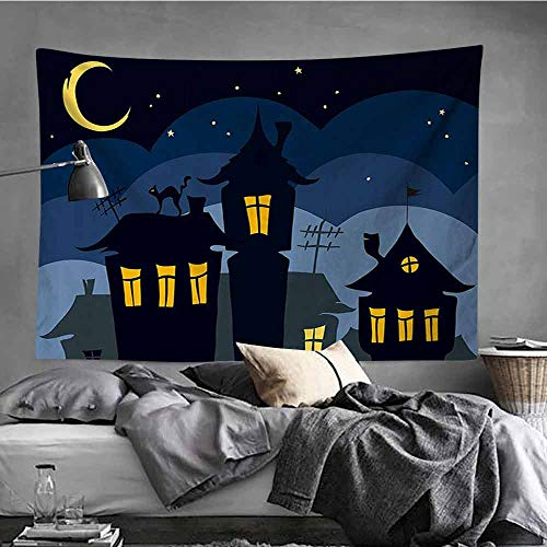 AndyTours Fashion Tapestry,Halloween,Occlusion Cloth Painting,51