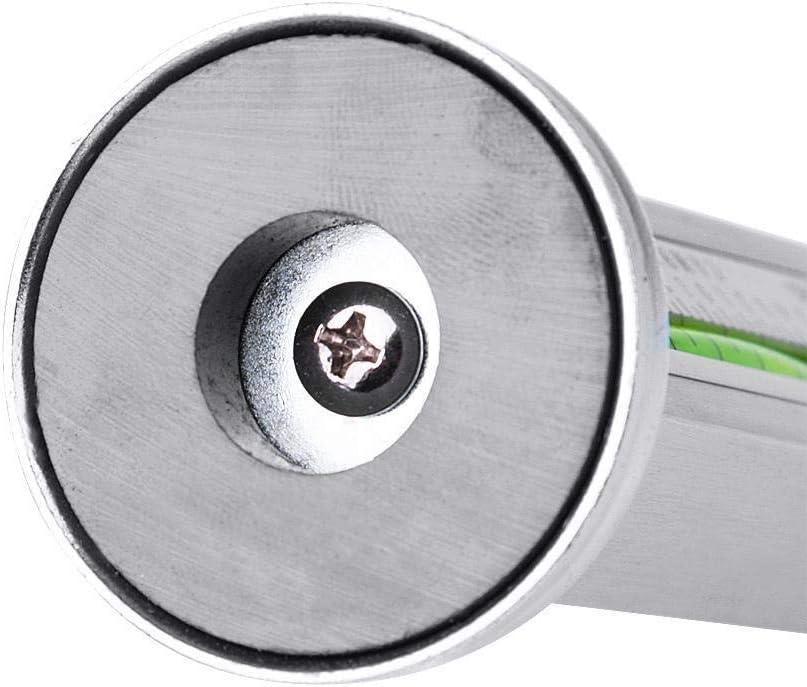 Rockyin Universal Adjustable Car Magnetic Gauge Tool Truck Camber Castor Strut Wheel Hub Alignment
