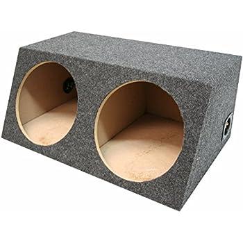 "Rockville Sealed Sub Box Enclosure For 2 Rockford Fosgate P1S8-15 15/"" Subwoofers"