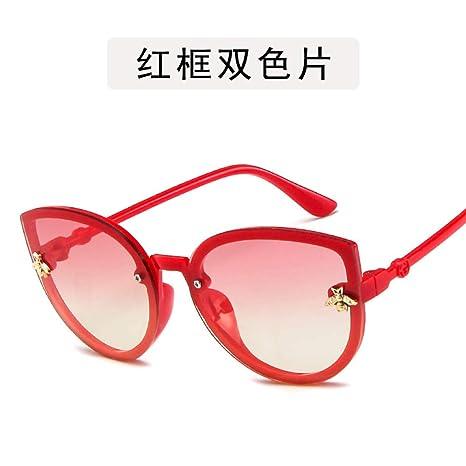 Yangjing-hl Gafas Gafas de Sol niños Dibujos Animados Ojos ...