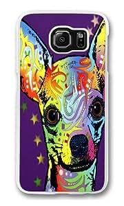 chihuahua Custom Samsung Galaxy S6/Samsung S6 Case Cover Polycarbonate Transparent