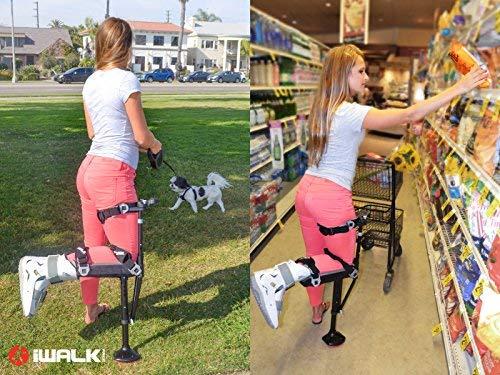 iWALK2.0 Hands Free Crutch Alternative Crutches