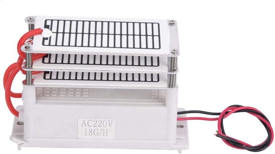 Ozonizador de Purificador de Aire,Generador de Ozono Integrado Placa de Cerámica(110V/220V),Desodorante y ...