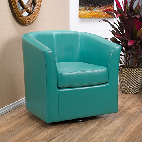 Christopher Knight Home 296641 Daymian Arm Chair, Turquoise