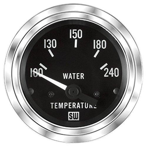 MAXIMA TECHNOLOGIES Stewart Warner Water Temperature Gauge 100-240 F