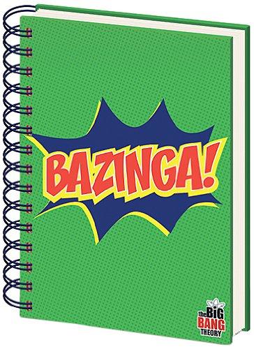 The Big Bang Theory Bazinga A5Notebook–Grün Pyramid International SR71684