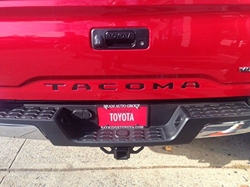 toyota tacoma 2016 2017 piano black tailgate letters inserts arts entertainment hobbies creative. Black Bedroom Furniture Sets. Home Design Ideas