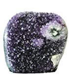 Deep Purple Uruguay Amethyst Upright Standing Stone Class 2 Polished 4-5 Pounds, By JIC Gem