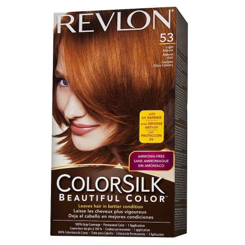 Amazon Colorsilk Permanent Haircolor Light Auburn 535r