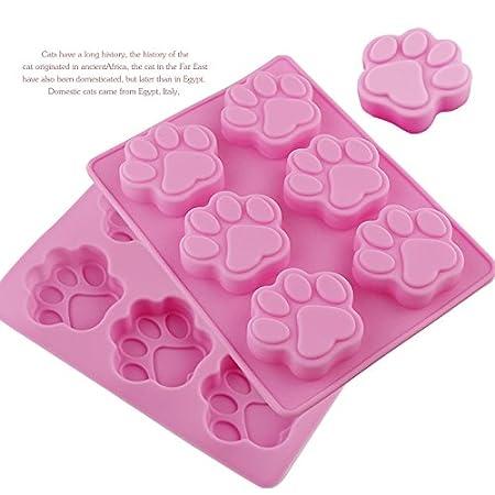 Premium Antiadherente Moldes para tartas (Set de 2), FantasyDay Moldes de Silicona para Caramelos, Chocolate, Hornear, Tarta, Galletas, Jabón, ...