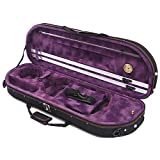Woodnote VC-820PL New Half-Moon Style Violin Case - Light Weight