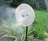 Mistcooling Convert Your Fan Into A Mist Fan With DIY Fan Ring Kit 6 Nozzles