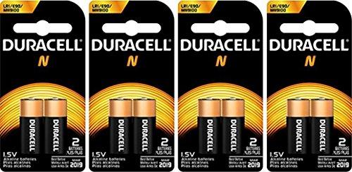 Duracell MN9100B2PK Home Battery, Size N (8 Batteries)