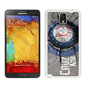 Samsung Galaxy Note 3 CDSC Cruz Azul White Screen Cellphone Case Personalized and Charming Design