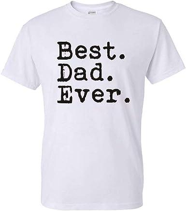 Best Dad Ever Fun New Camiseta de Manga Corta para Hombre ...