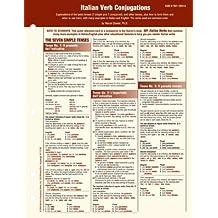 Italian Verb Conjugation Card