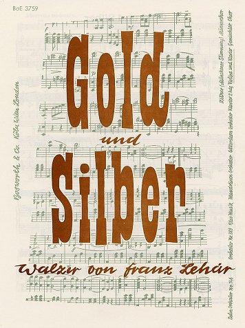 Gold Und Silber -Walzer für Violine & Klavier-: Stimme(n) für Violine, Klavier